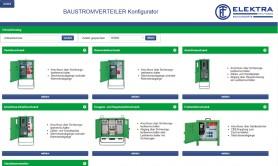 Baustromverteiler Konfigurator