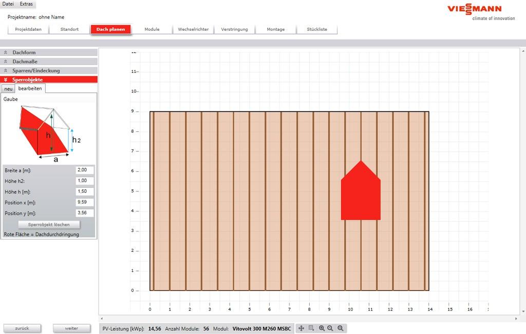 Photovoltaik Dach planen